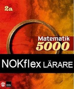 NOKflex Matematik 5000 Kurs 2a Röd & Gul, Lärare