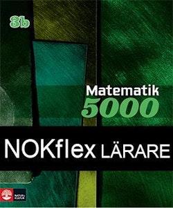 NOKflex Matematik 5000 Kurs 3b Grön, Lärare