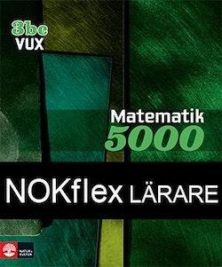 NOKflex Matematik 5000 Kurs 3bc Vux, Lärare