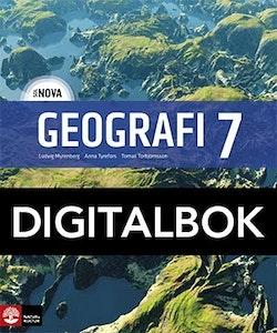 SOL NOVA Geografi 7 Elevbok Digital