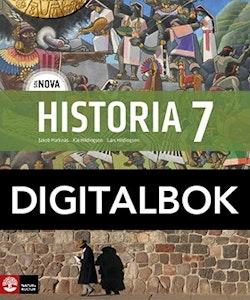 SOL NOVA Historia 7 Elevbok Digital