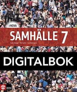 SOL NOVA Samhälle 7 Elevbok Digital