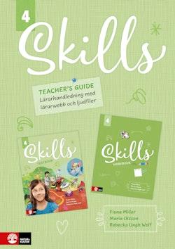 Skills Teacher's Guide åk 4 inkl ljudfiler och digitalt lärarstöd
