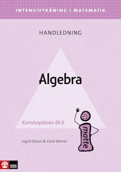 Intensivträning ma åk 4-6 Algebra Lhl
