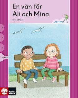 Läshoppet Nivå 1- Ali och Mina, 4 titlar