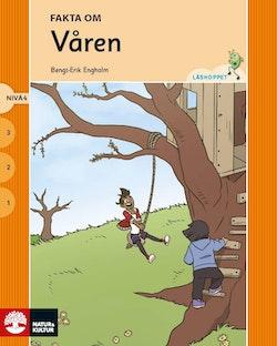 Läshoppet Nivå 4 - Fakta om årstiderna, 4 titlar