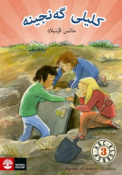 ABC-klubben åk 3 Nyckeln till skatten Läsebok A (kurdiska)