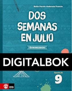 Dos semanas en julio 9 Övningsbok Digital