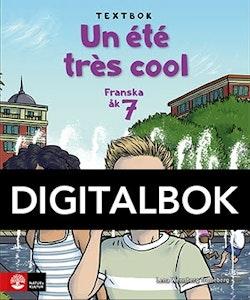 Un été très cool åk 7 Textbok Digital