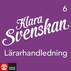 Klara svenskan åk 6 Lärarwebb 12 mån