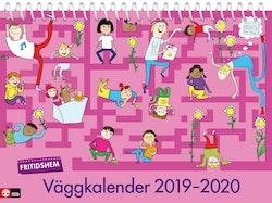 Fritidshem Väggkalender 2019-2020
