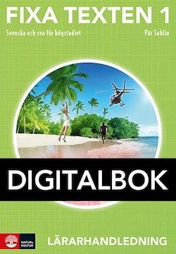 Fixa texten 1 Lärarhandledning Digital, andra uppl