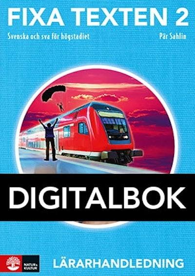 Fixa texten 2 Lärarhandledning Digital, andra uppl