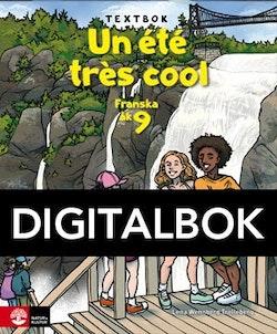 Un été très cool åk 9 Textbok Digitalbok
