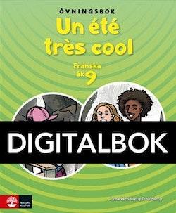 Un été très cool åk 9 Övningsbok Digitalbok