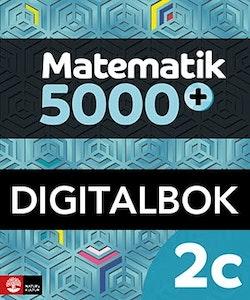 Matematik 5000+ Kurs 2c Lärobok Digital