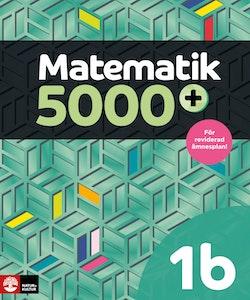 Matematik 5000+ Kurs 1b Lärobok Digitalbok
