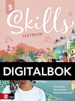 Skills åk 5 Textbook Digital UK