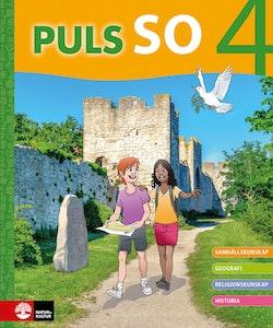 PULS SO åk 4 Grundbok Digital UK