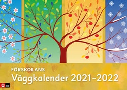 Förskolans väggkalender 2021-2022