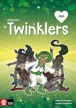 English Twinklers green Jen