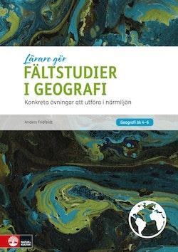Lärare Gör Fältstudier i geografi