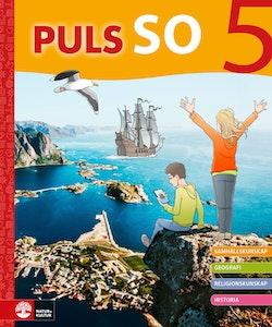 PULS SO åk 5 Grundbok Digitalbok