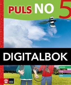 PULS NO åk 5 Grundbok Digitalbok
