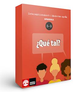 Interaktionskort spanska åk 8-9 - ¿Qué tal?