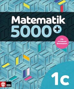 Matematik 5000+ Kurs 1c Lärobok Upplaga 2021
