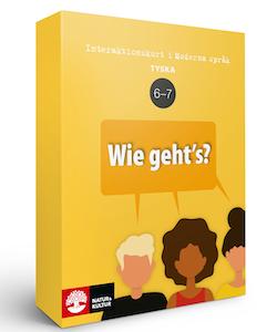 Interaktionskort tyska åk 6-7 - Wie geht's?