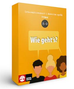 Interaktionskort tyska åk 8-9 - Wie geht's?