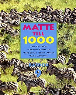 Matte till 1000 ÅR 9 Basbok