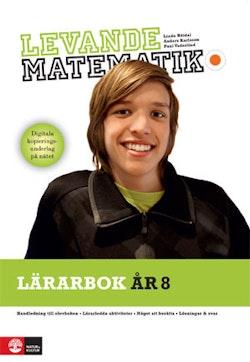 Levande matematik Lärarbok 8 med kopieringunderlag