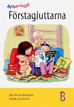 Kom och läs 1 (Tidigare upplaga) Förstagluttarna, B-boken