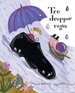 Tre droppar regn