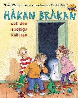 Håkan Bråkan och den spökiga källaren