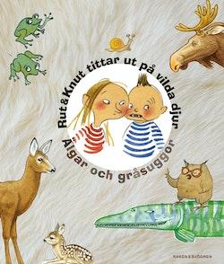 Rut & Knut tittar ut på vilda djur : Älgar och gråsuggor