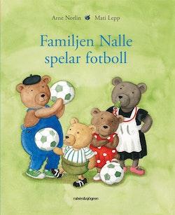 Familjen Nalle spelar fotboll