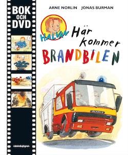 Här kommer brandbilen Bok + DVD