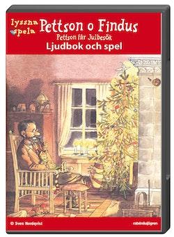 Pettson o Findus : Pettson får julbesök. Ljudbok och spel