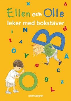 Ellen och Olle leker med bokstäver