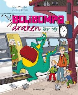 Bolibompa-draken åker tåg