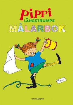 Pippi Långstrumps målarbok : Målarbok