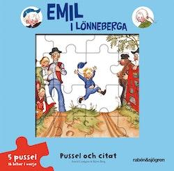 Emil i Lönneberga - Pussel och citat - Pusselbok
