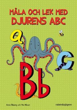 Måla och lek med djurens ABC