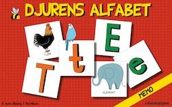 Djurens alfabet - memo