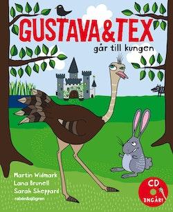 Gustava och Tex går till kungen
