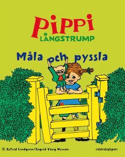 Pippi Långstrump - Måla och pyssla