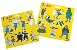 Pippi 17 st Stickers